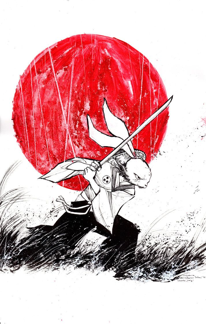 Commission: Usagi Yojimbo by ARIELAkris on DeviantArt
