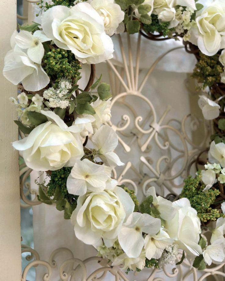Ghirlanda fiorita Angelica Home & Country