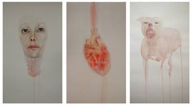 "Saatchi Art Artist Sara Cancellieri; Painting, ""Psichismo a sud"" #art"