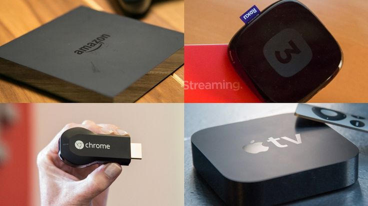 With amazon's Fire TV added to the list, we compare Fire TV to Chromecast to Apple TV to Roku 3.