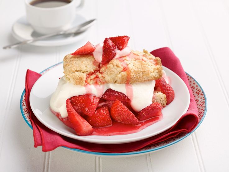 Strawberry Shortcake recipe from Chic & Easy via Food Network