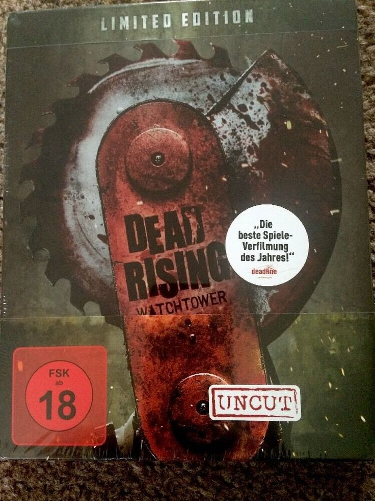 Dead Rising Watchtower - Limited Edition Steelbook - Blu Ray Disc - Uncut