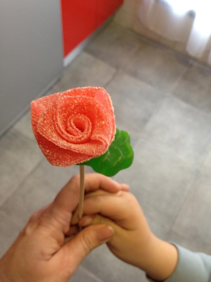 Rosas de Gominola