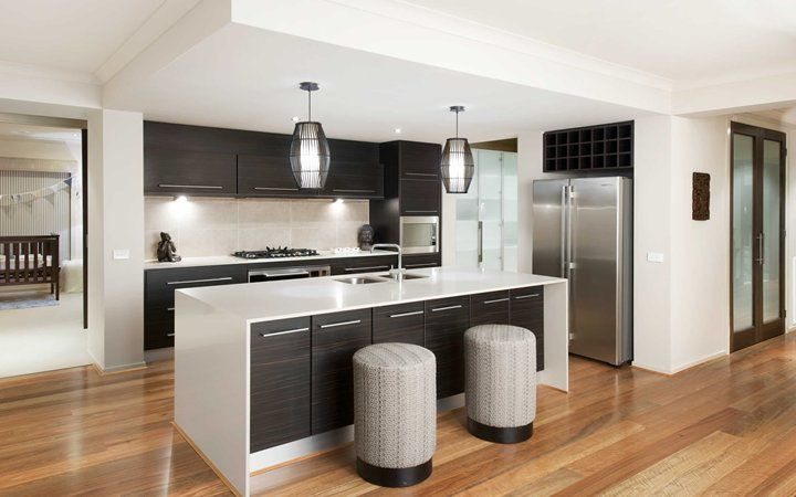 my new kitchen, but with gloss cupboards