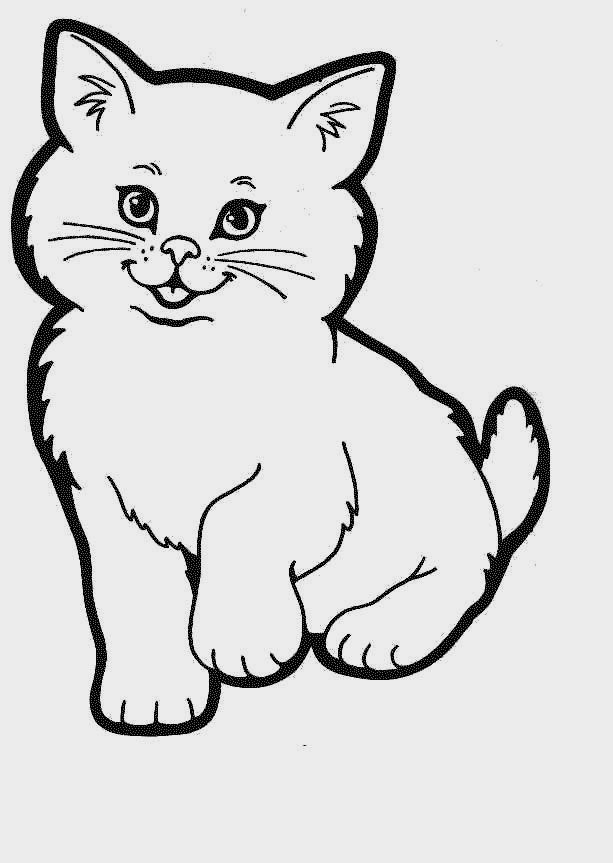 Printable Kitten Coloring Pages Free Sheets Kittens