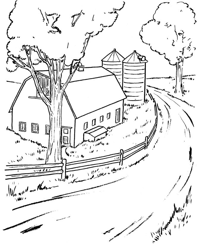 barn animals coloring pages - photo#33