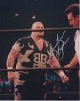Bam Bam Bigelow Autographed Wrestling 8X10 Photograph