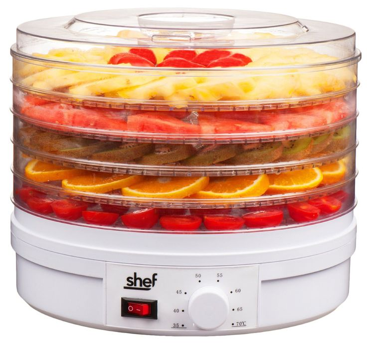 Food Dryer & Dehydrator Machine with Adjustable Temperature Control
