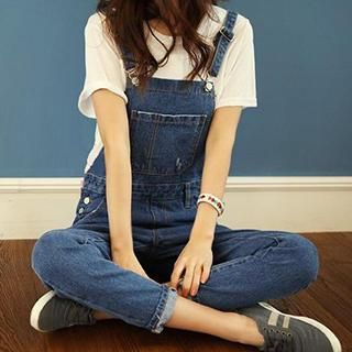 Denim Jumper Pants from #YesStyle <3 Eva Fashion YesStyle.com