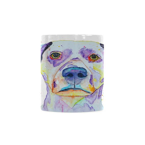 Dalmatian spotted dog ceramic teacup. New homeowner gifts for