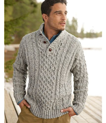 Knitting Patterns Irish Fisherman Sweaters : Henleys, Irish and Sweaters on Pinterest