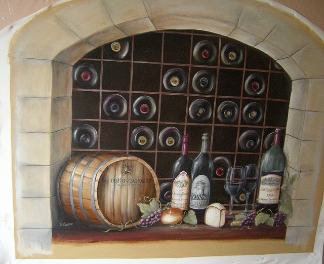 18 best painting images on pinterest water colors for Wine cellar paint colors