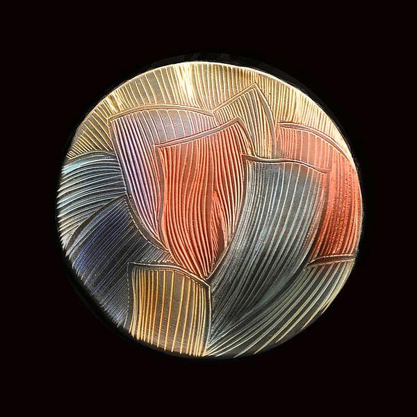 Petals Wall Disc: Natalie Blake: Ceramic Wall Art - Artful Home