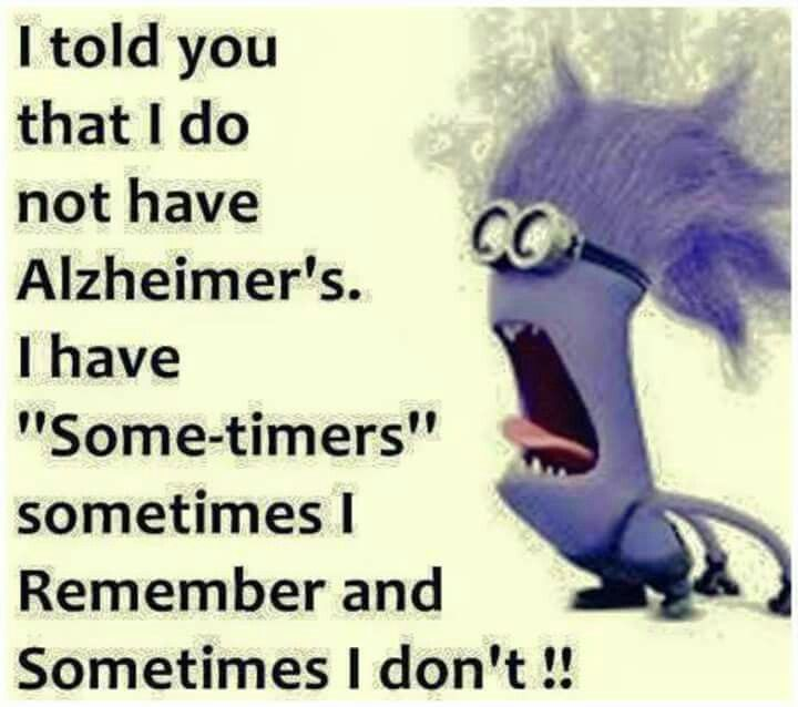 """I Have """"Some-Timers"""""""