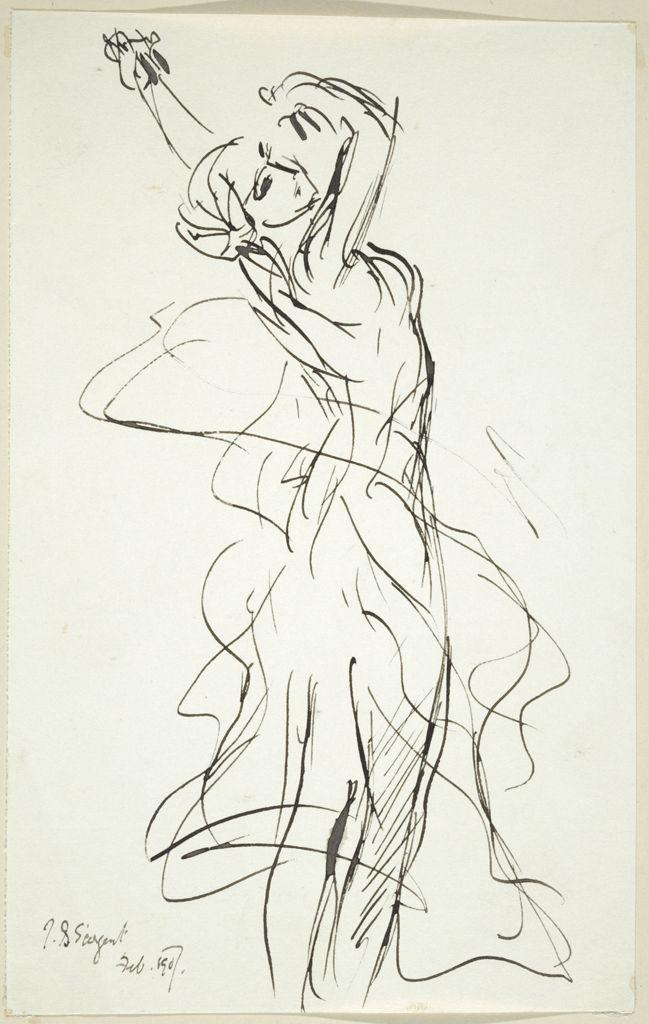 Line Drawing Dancer : Best images about john singer sargent on pinterest