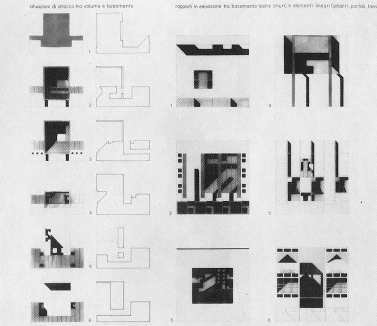 Architecture Design House Interior Drawing 99 best franco purini images on pinterest | arches, monuments and