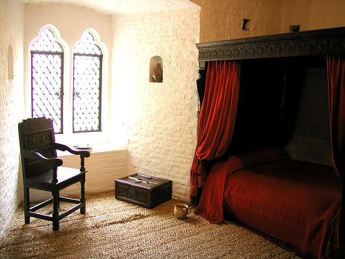 Sir Walter Raleigh's cell in the Bloody Tower
