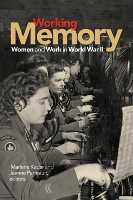 """940.53082 WOR Working Memory: Women and Work in World War II """"speaks to the work women did during the war: the labour of survival, resistance, and collaboration, and the labour of recording, representing, and memorializing these wartime experiences. The contributors follow their subjects tracks and deepen our understanding of the experiences from the imprints left behind."""