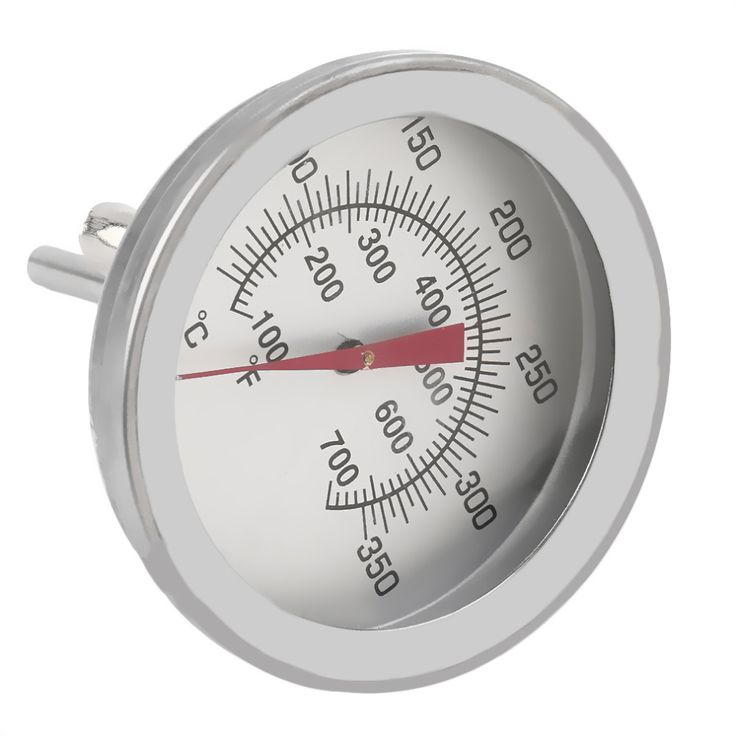 Stainless Steel Cooking Oven Thermometer Probe Thermometer Food Meat Gauge