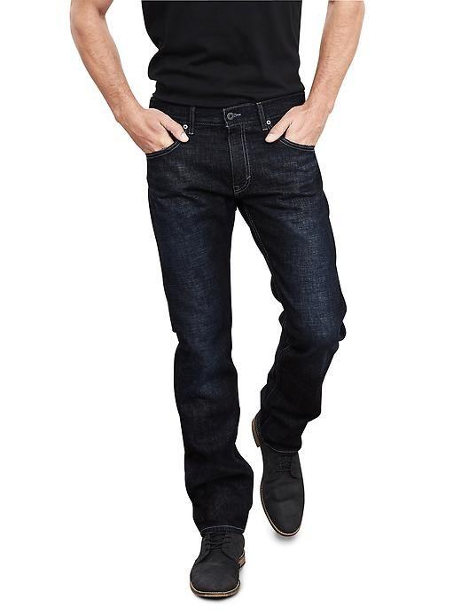 Slim Dark Wash Jean