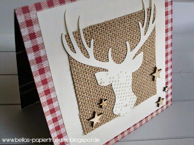 karte 16 weihnachtskarten basteln karten basteln und. Black Bedroom Furniture Sets. Home Design Ideas