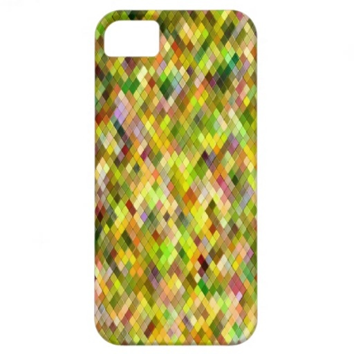 Harlequin _Spring_701a - by Greta Thorsdottir - iPhone 5 case from Zazzle