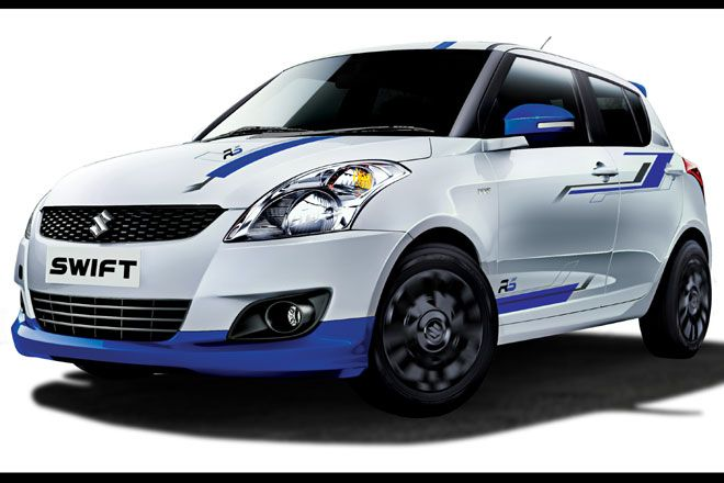 Maruti Suzuki India has introduced a limited edition 'Swift RS', the sporty version of the popular Swift. The Swift RS comes with new styling and graphics and that give it a distinct sporty character and looks. Swift RS will be available only in limited numbers and for a short period.