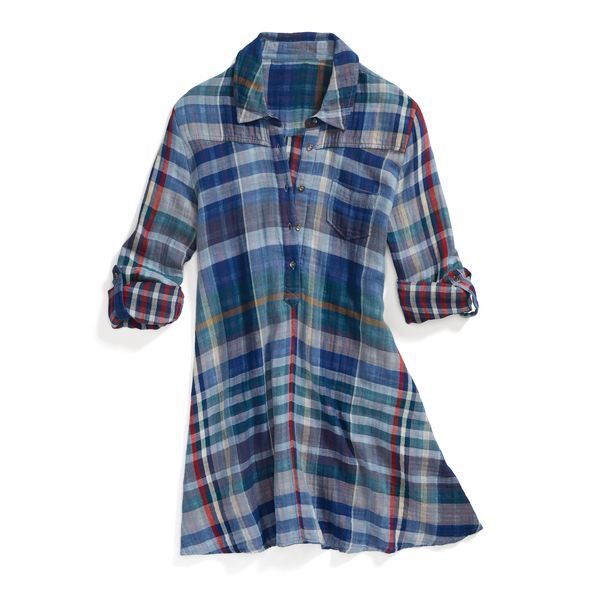 Stitch fix Fall 2016 Plaid dress. Great with leggings or boots! Stitch Fix Fall…