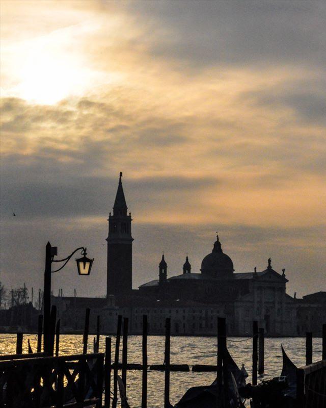 Venice .  A city built on a lagoon