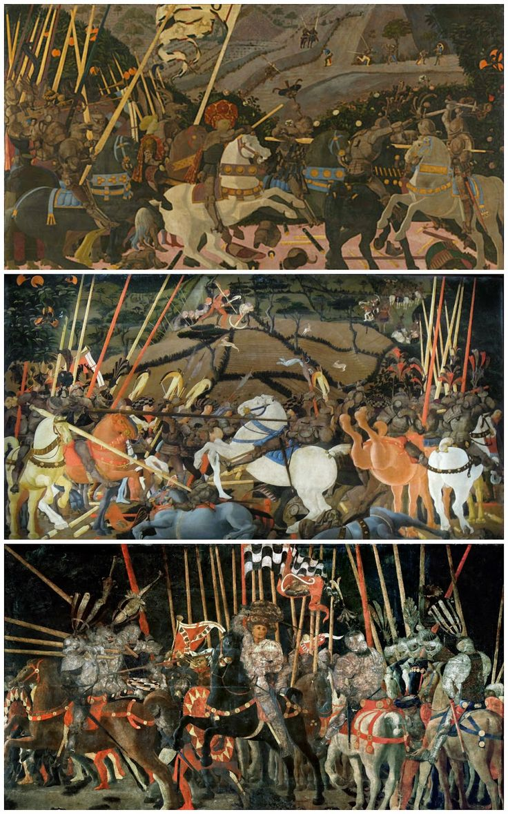 Laetitiana: Paolo Uccello - The Battle of San Romano c.1450