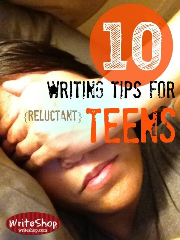 Ideas to help reluctant writers