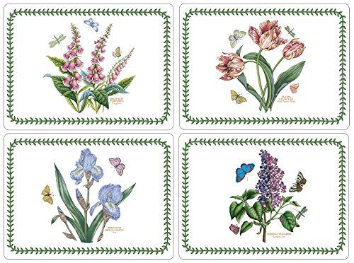 Portmeirion Botanic Garden Placemats, Set of 4 * You can find out more details at the link of the image.