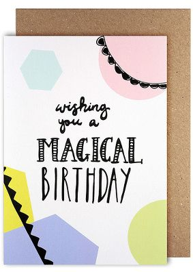 Amelia Paper Lane Magical Birthday Card