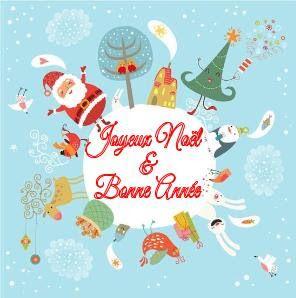 Textes sur cartes de souhaits : noël & bonne année
