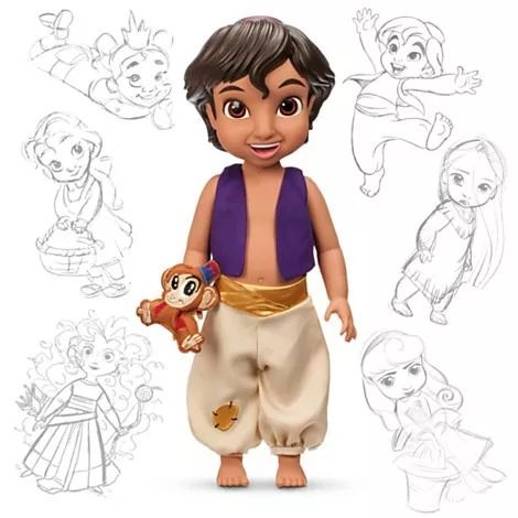 aladin animators 2015 original disney store no brasil