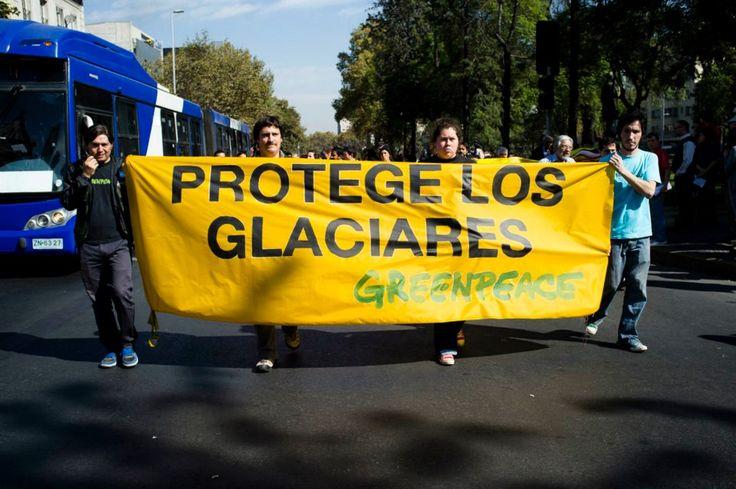 Imagen de Campaña de Protección a los Glaciares de Greenpeace Chile