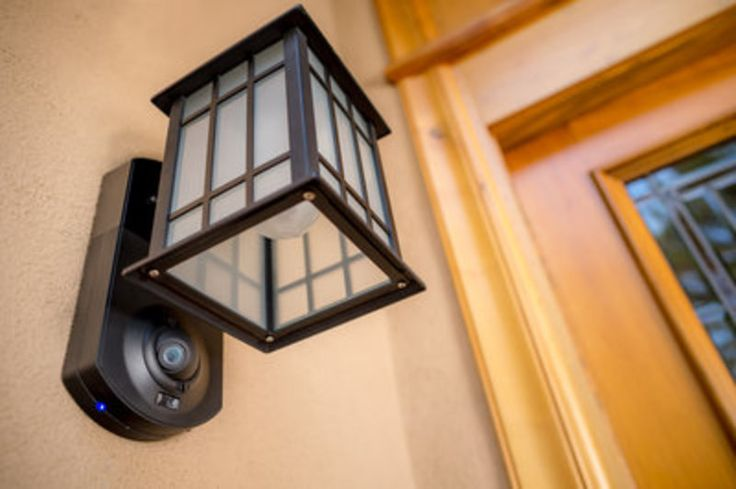 The Kuna Integrated Smart Home Security Lantern is an elegant way to conceal a home security system.  It has wifi-enabled security camera and video intercom so you can keep your home safe without sacrificing beauty.
