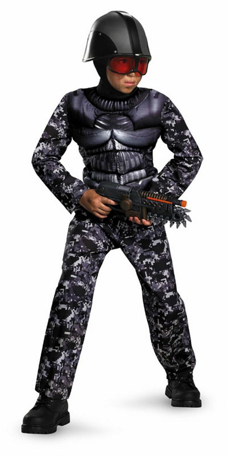 Exo Swat Costume