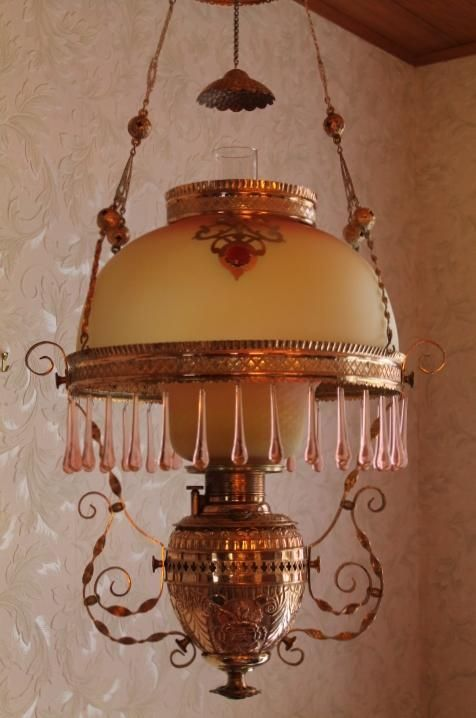 Etched Glass Ceiling Light