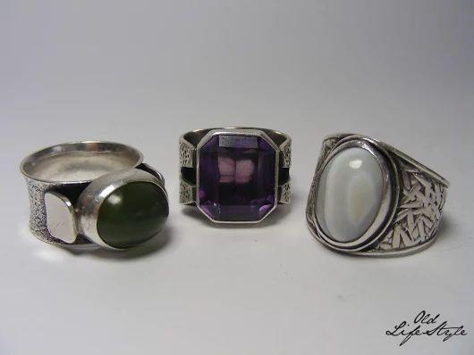 Pierścioneki ORNO/ silver rings ORNO/ polish vintage jewellery/ polish PRL jewellery/ vintage ring/ vintage silver jewellery #vintagejewellery #polishjewellery #PRLjewellery #polskabiżuteria #polskabiżuteriaPRL #ring #ORNO
