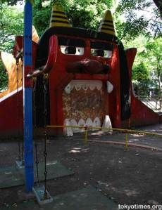 ...when the devil shows up at your local playground...