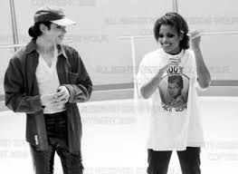 Michael Jackson: rare picture with Janet Jackson.