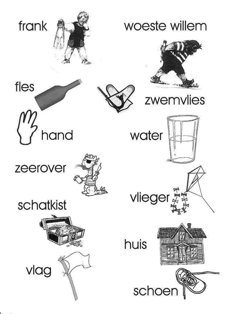 welke woorden beginnen met dezelfde letter?