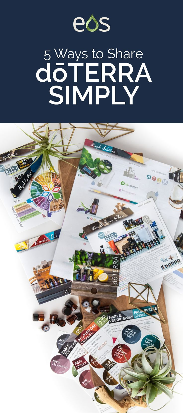 Grow your doTERRA Essential oil business by sharing...