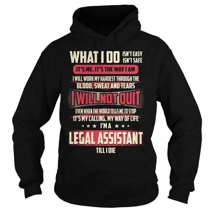 Legal Assistant Job Title T-Shirts, Hoodies. ADD TO CART ==► https://www.sunfrog.com/Jobs/Legal-Assistant-Job-Title-T-Shirt-Black-Hoodie.html?id=41382