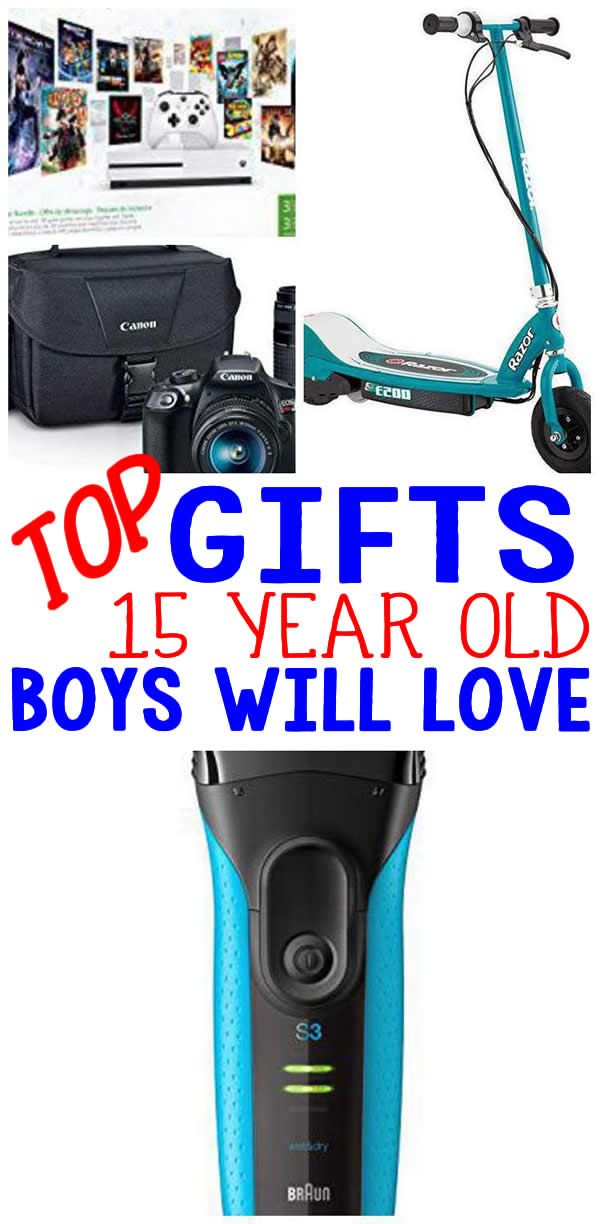 Gifts 15 Year Old Boys WILL LOVE Amazing Gift Ideas For