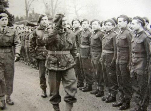1st Independent Polish Parachute Brigade somewhere in Britain.