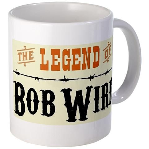 The Legend of Bob Wire mug