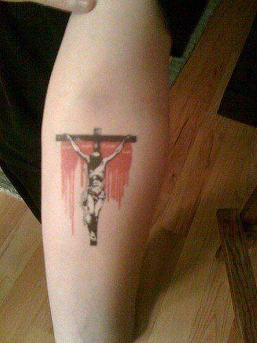 tatuaggio gesu cristo 1036
