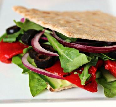 Vegan Foldover Sandwich